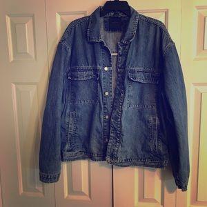 Indigo Palms Men's Denim Blue Jean Jacket